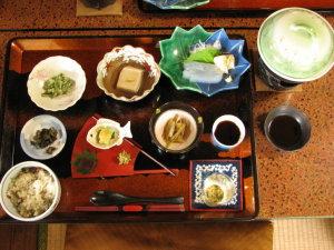 山菜精進料理