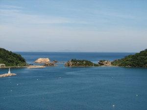 隠岐の島遠望