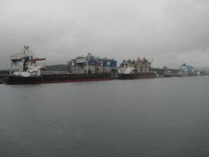 東海港入港
