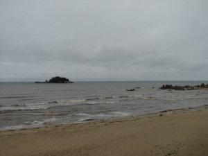 北緯38度線の海岸
