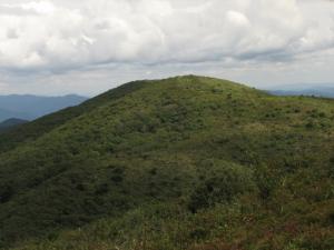 岩樋山より道後山