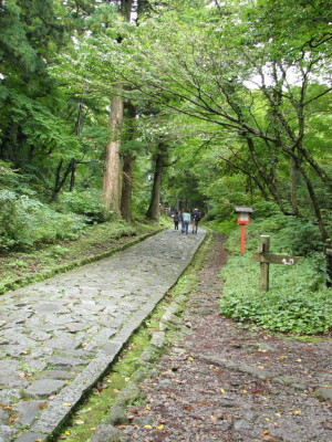 日本一の石畳