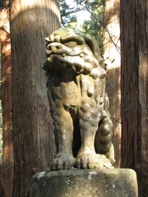 大神山神社狛犬