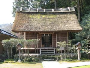 熊野大社 鑚火殿