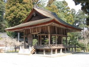 熊野大社 舞殿