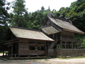 国宝 神魂神社