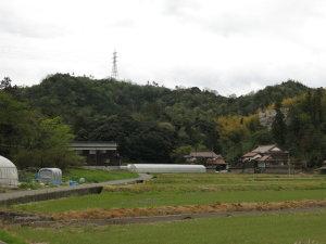米子市 行者山
