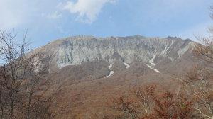笛吹山の大山眺望
