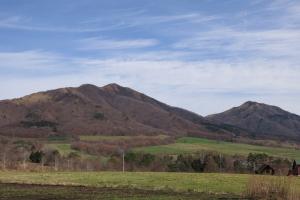 初冬の蒜山高原