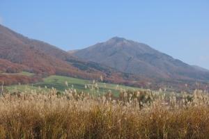晩秋の蒜山高原
