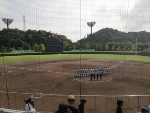 高校野球鳥取県大会決勝
