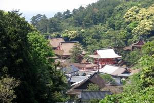 日御碕神社遠望