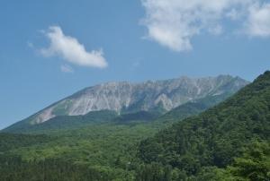 青葉の大山