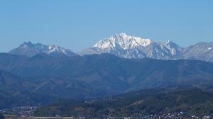 真東からの大山展望