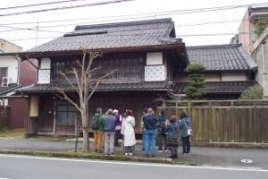 米子の町家の庭園ツアー