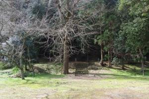 熊野大社上の宮跡